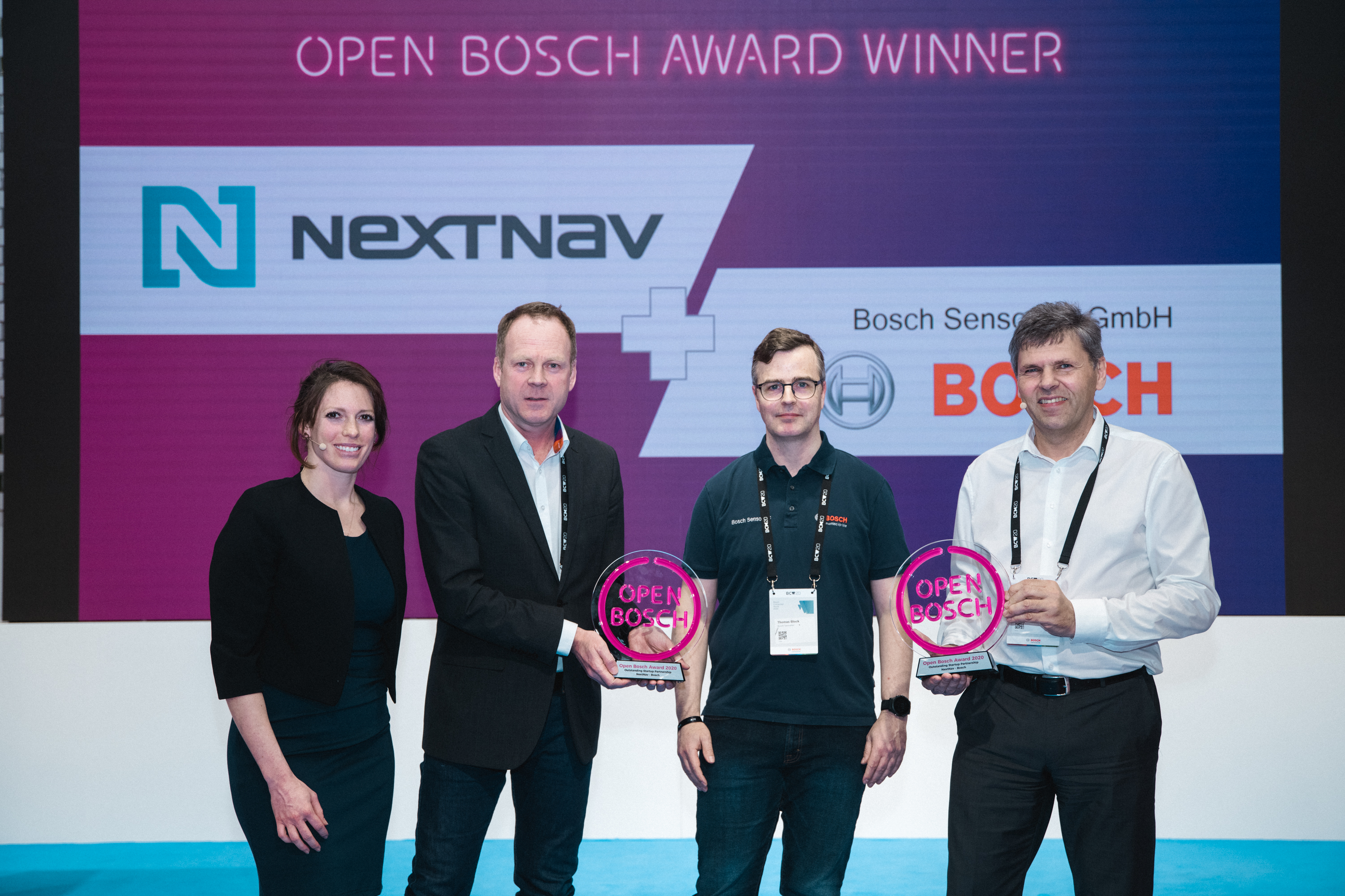 Open Bosch Award 2020 Winner – NextNav and Bosch Sensortec