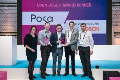 Open Bosch Award 2020 Winner – Poka and Bosch Power Tools