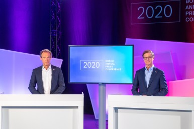Bosch Annual press conference 2020