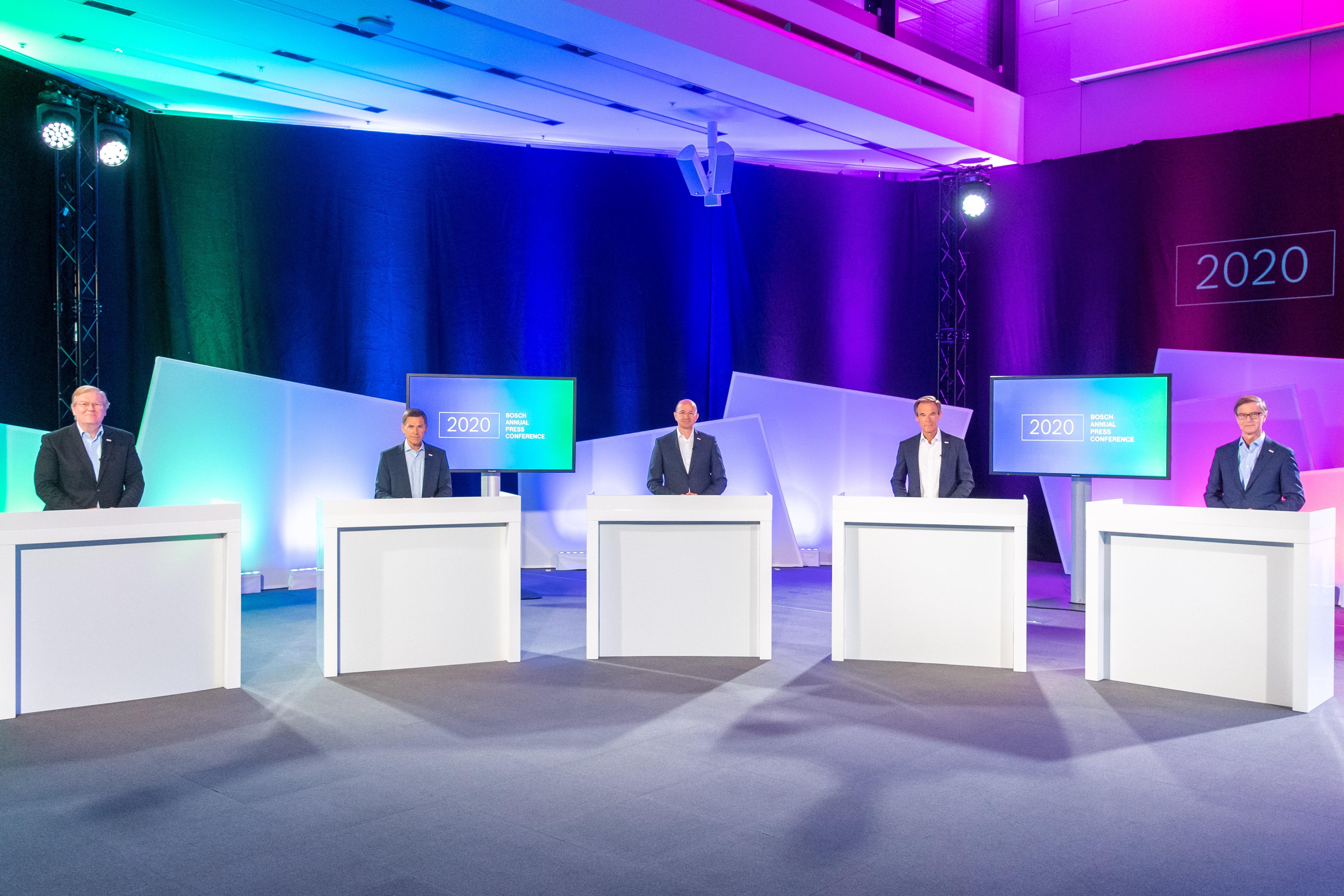 Bosch Annual press conference 2020