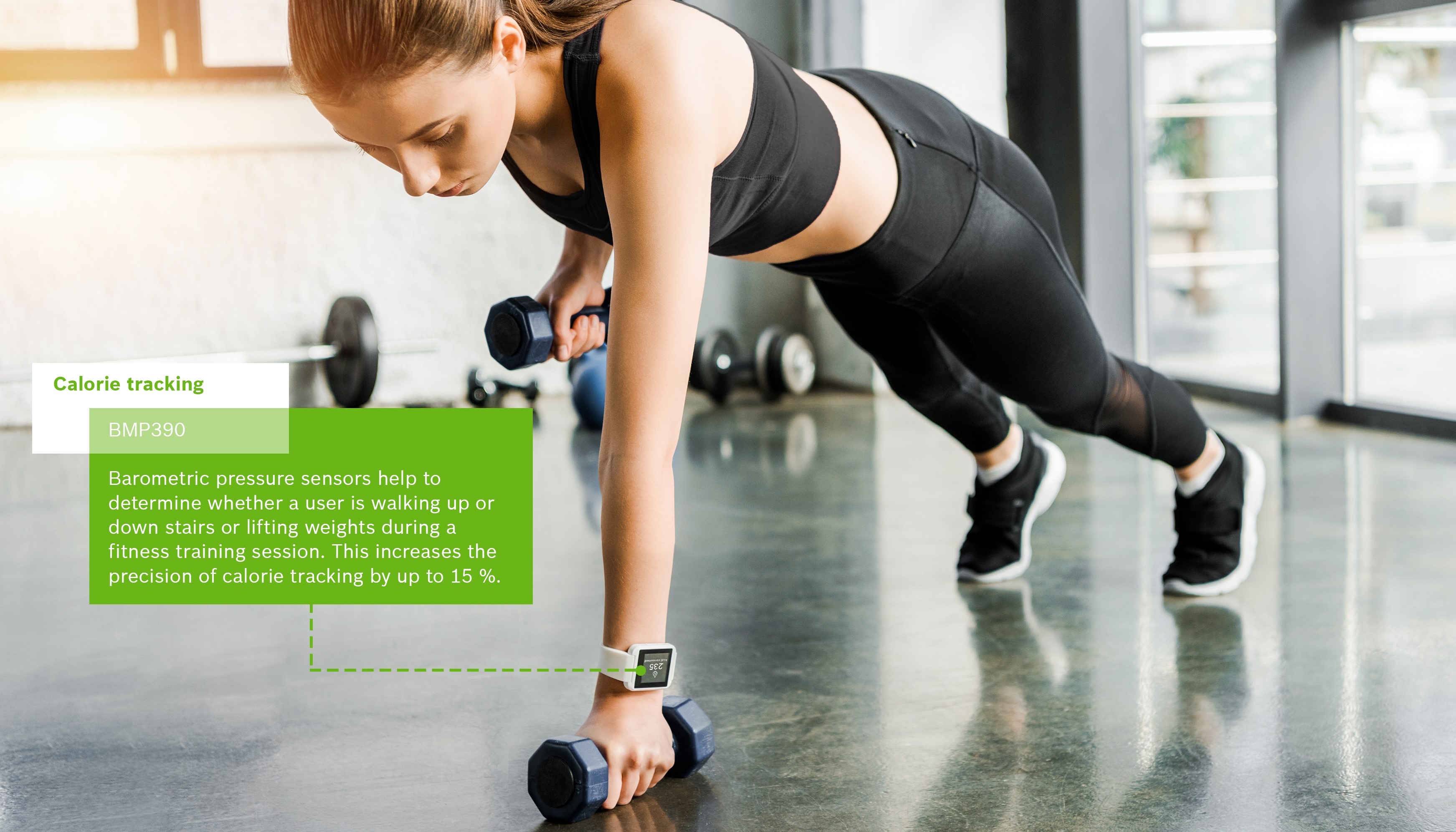 Improved fitness tracking
