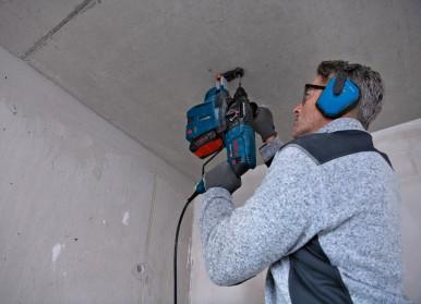Flexible und bequeme Anwendung bei kurzer Rüstzeit: Neue Staubabsaugung von Bosch für Profis