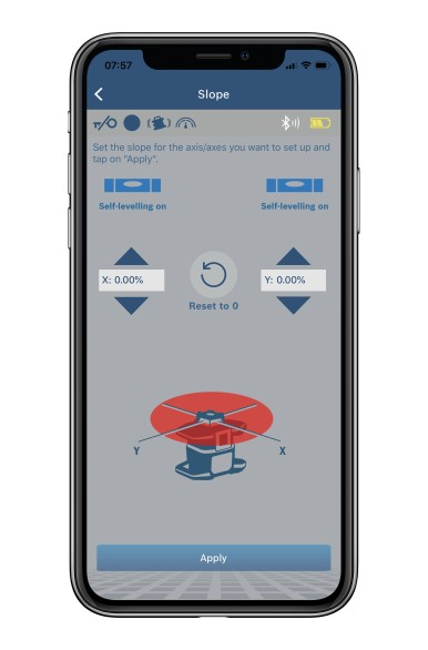 More control per Levelling Remote App: New rotation laser from Bosch for professionals