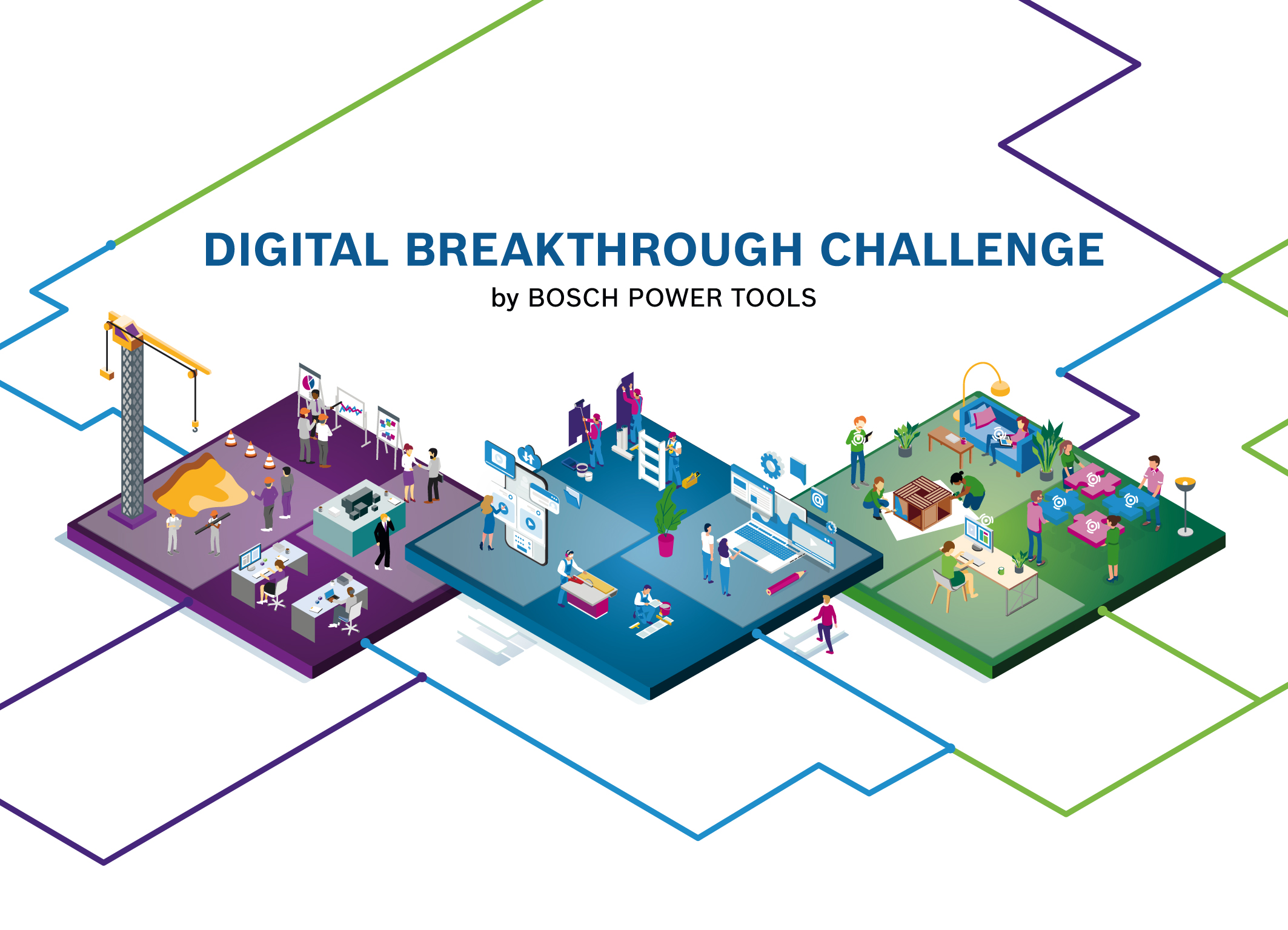 "Start-ups in three areas: Bosch starts ""Digital Breakthrough Challenge"""