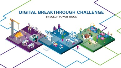 "Strategische Partnerschaften mit Start-ups: Bosch starts ""Digital Breakthrough Challenge"""