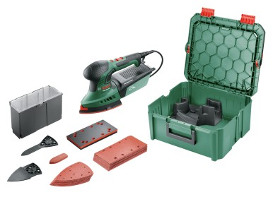 Most versatile multi-sander from Bosch: PSM 200 AES in the SystemBox size M