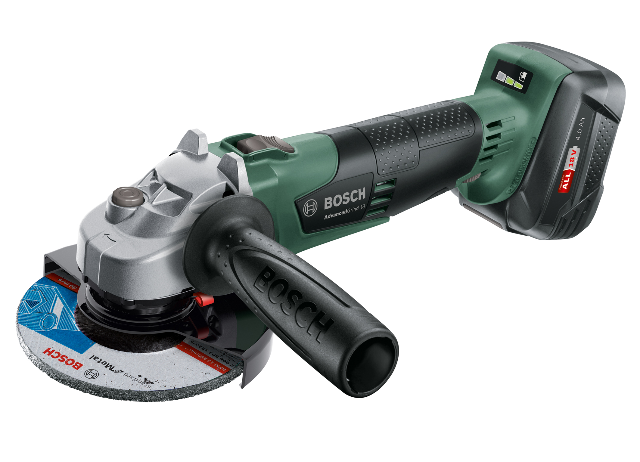 "Flexibility with maximum control and high user protection: AdvancedGrind 18 in the ""Power for All"" system from Bosch"