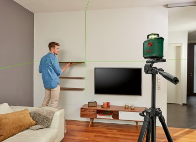 Versatile all-rounder: The AdvancedLevel 360 from Bosch for DIYers