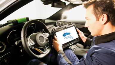 Bosch Esitronic workshop software allows comprehensive work on access-protected Mercedes-Benz vehicles