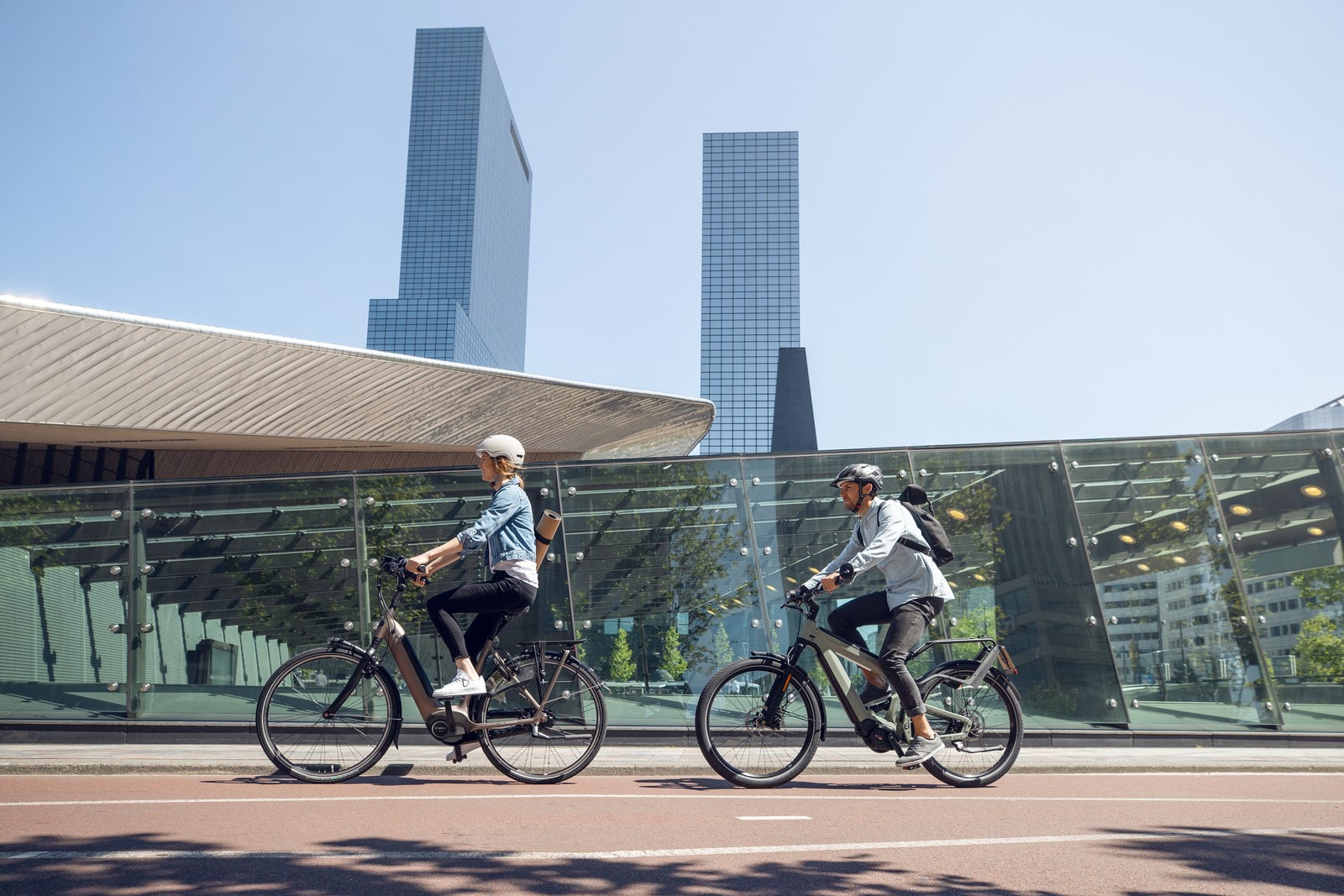 Bicycles and the eBike play an increasingly important role in individual mobility – making the sustainable development of the infrastructure all the more important.