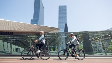 Bosch eBike Systems: Now driving forward changes in urban traffic