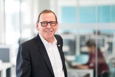 Peter Tyroller, Bosch-Geschäftsführer und verantwortlich für die Region Asien-Pazifik
