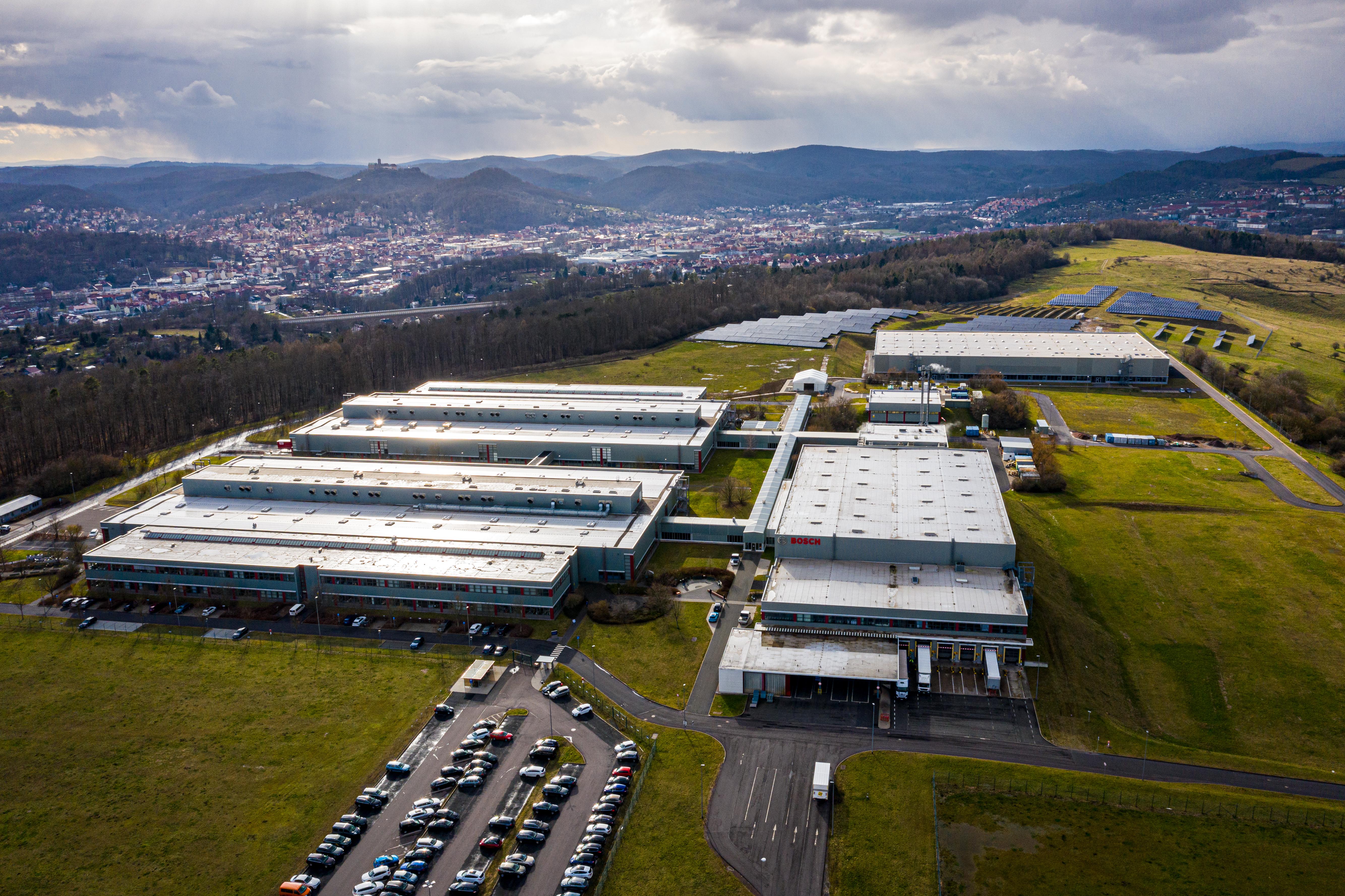 The Bosch plant in Eisenach