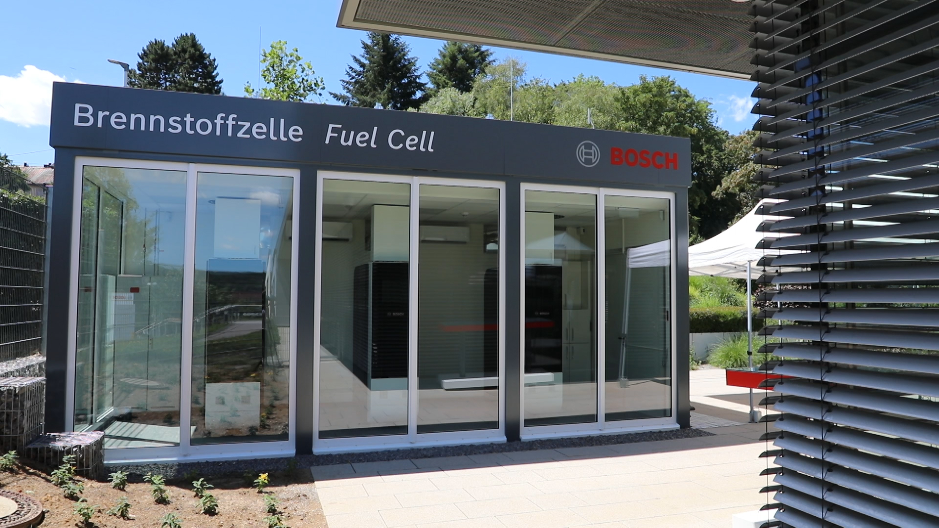 Hydrogen-capable fuel cell in Wernau
