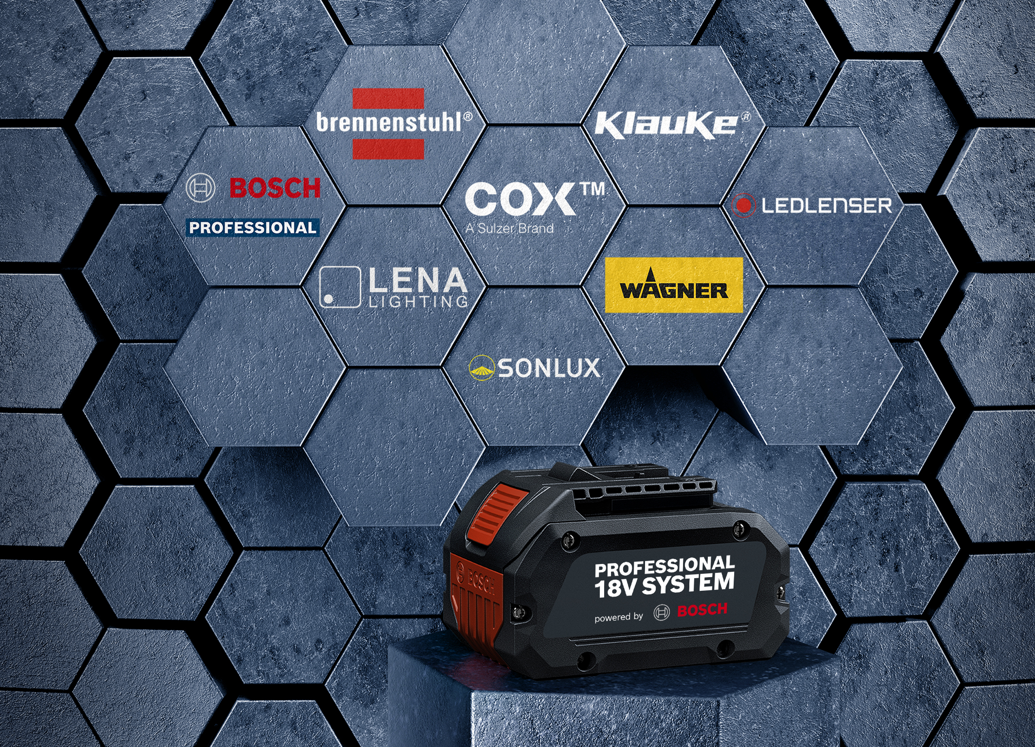 Efficiency boost for professional users: Bosch opens Professional 18V System for expert brands