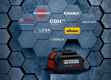 Efficiency boost for professional users: Bosch opens Professional 18V System for ...