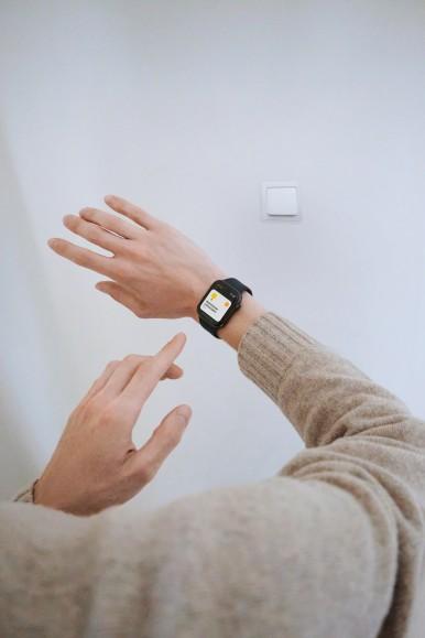 Bosch Smart Home controlled via Apple Watch