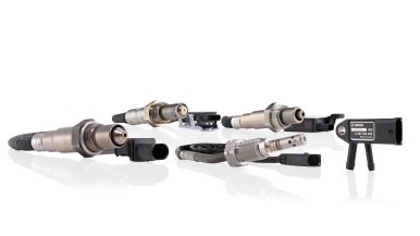 Exhaust-gas temperature sensors and nitrogen-oxide sensors complement the Bosch workshop range