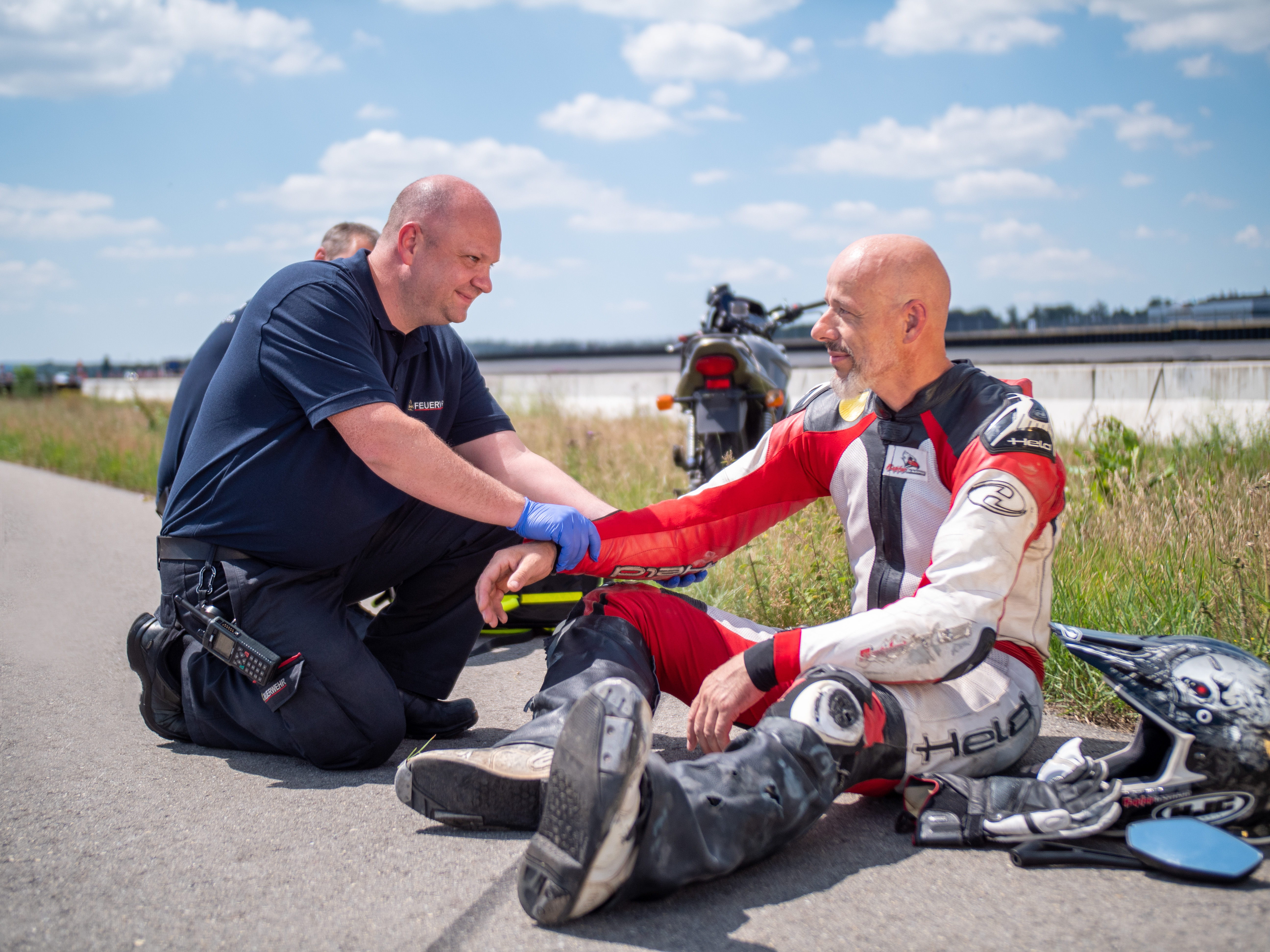 Help Connect ensures greater two-wheeler safety