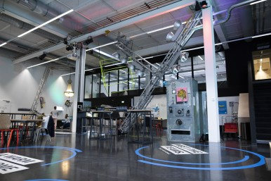 Bosch's in-house startup platform, grow, in Ludwigsburg near Stuttgart