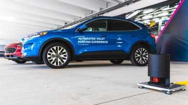 Ford, Bedrock and Bosch are exploring highly automated vehicle technology in Detroit to help make parking easier