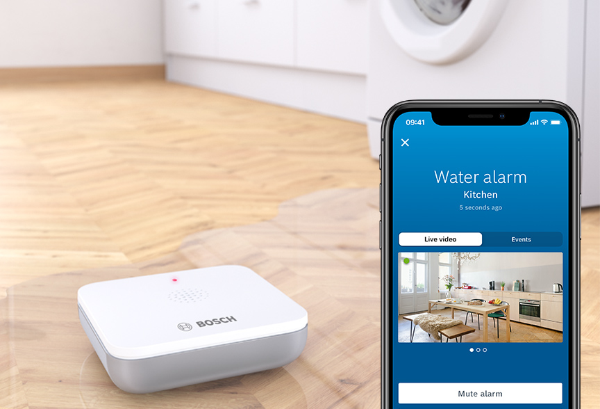 The Bosch Smart Home water detector