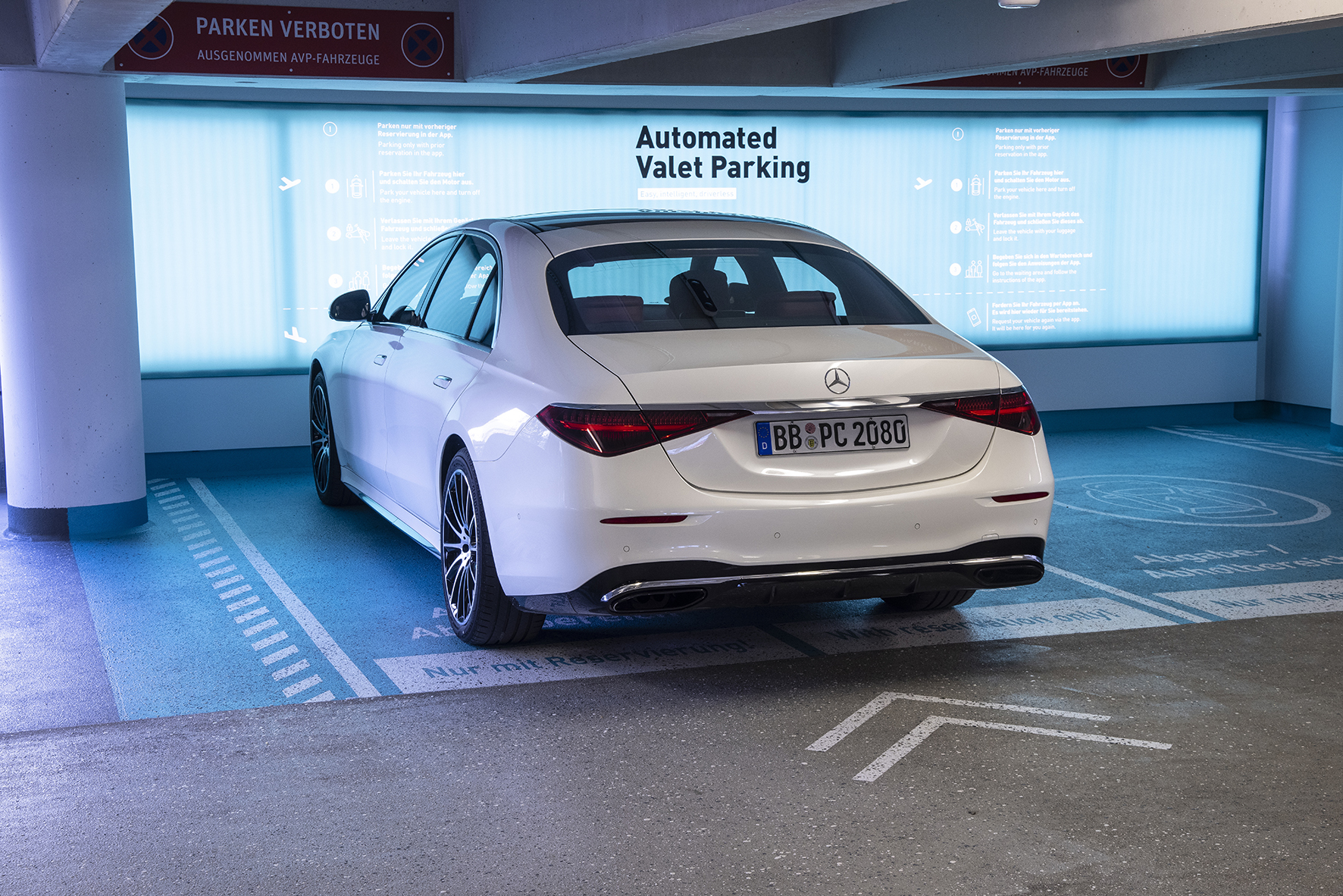 Connected vehicle and smart infrastructure enhance automated parking