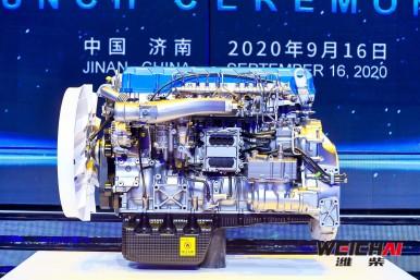 Bosch und Weichai Power steigern Wirkungsgrad von Lkw-Dieselmotor