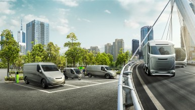 City, country, freeway: Bosch paves the way for climate-neutral transportation