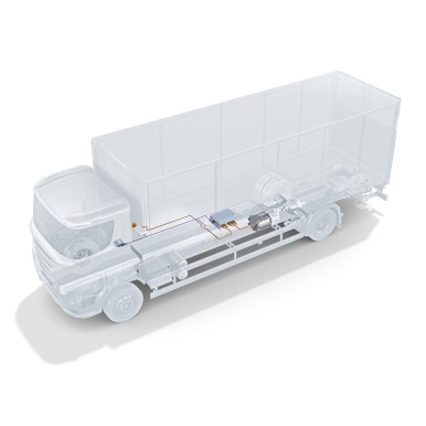 eRegioTruck powertrain solutions from Bosch