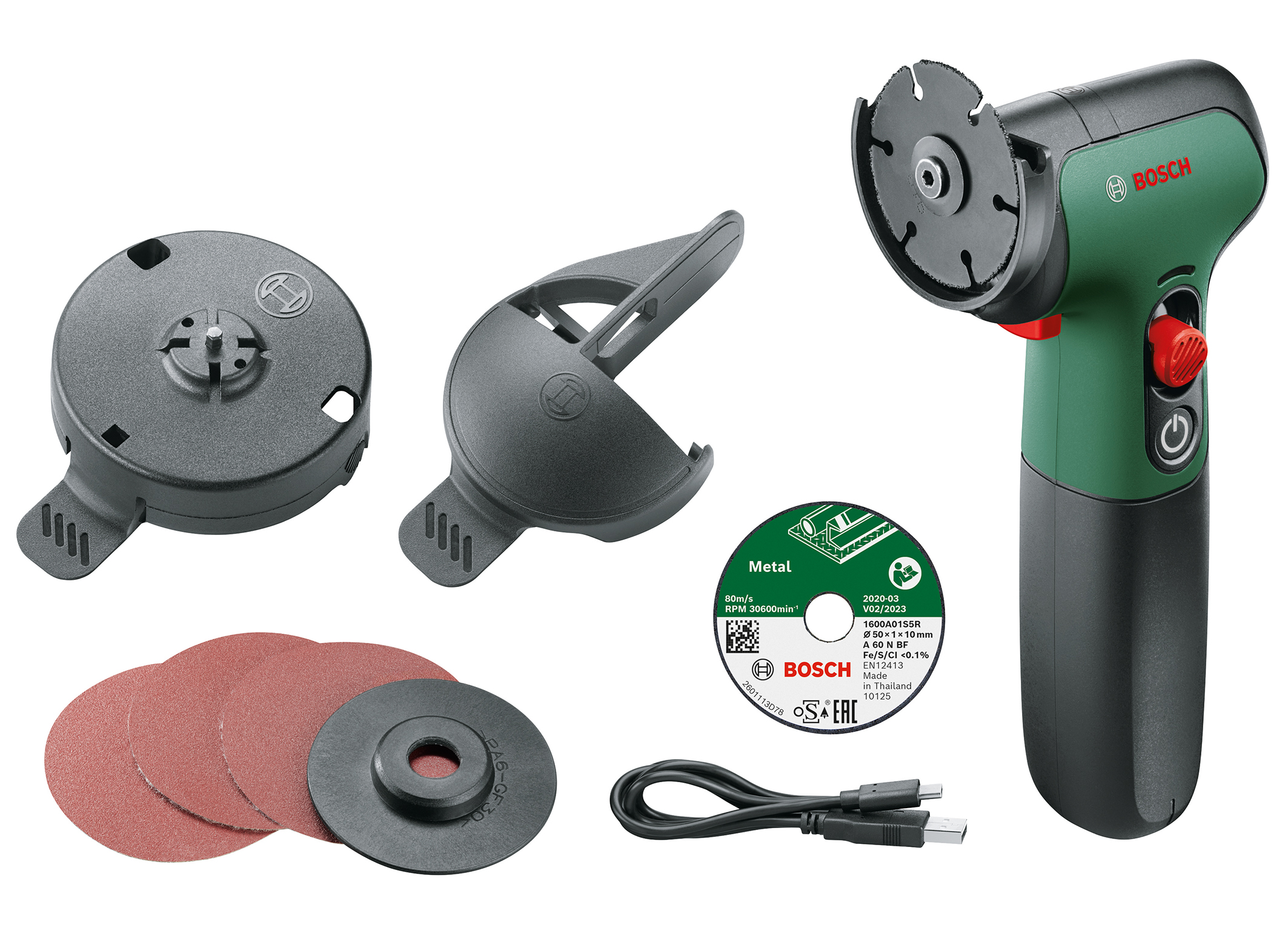 The smallest and lightest cordless angle grinder on the market: The EasyCut&Grind from Bosch