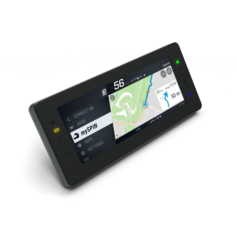 Split screen on a 10.25-inch TFT display
