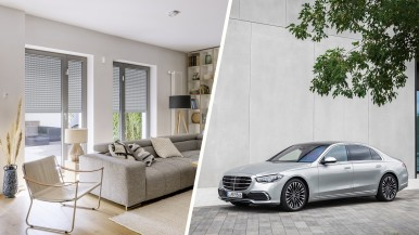 The Bosch Smart Home Partner Program welcomes a new member: the Mercedes-Benz S-Class