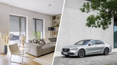 Bosch Smart Home neuer Partner Mercedes-Benz