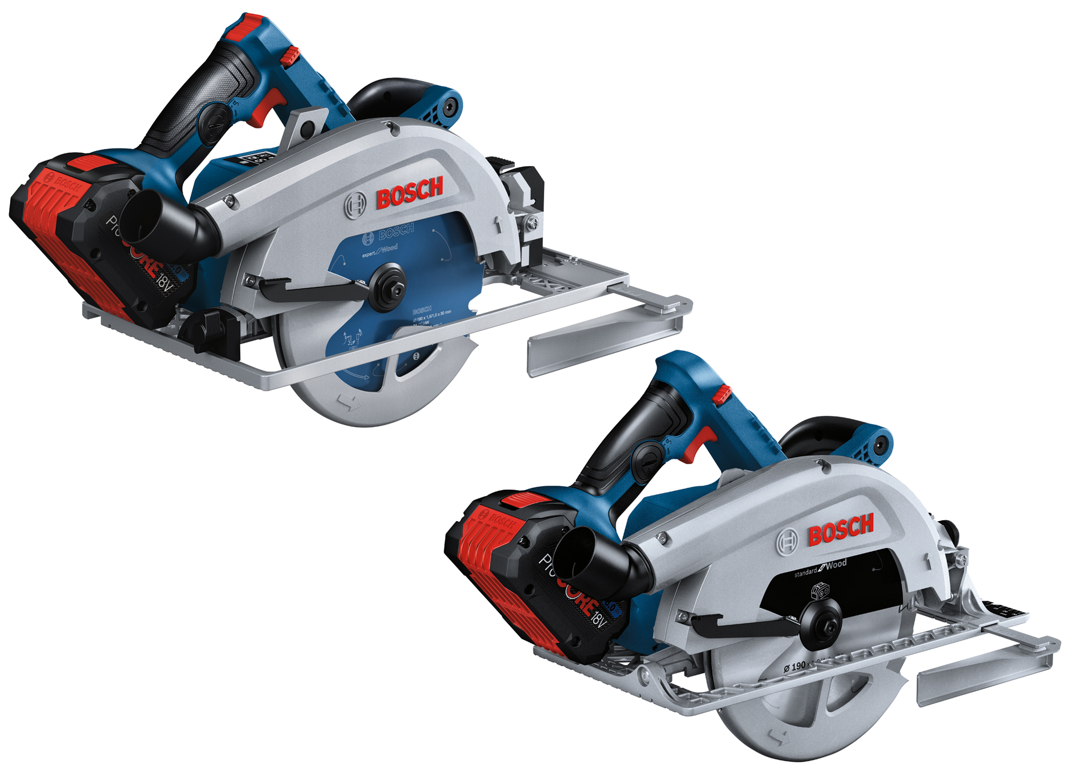 New flagships for woodworking: Cordless GKS 18V-68 GC und GKS 18V-68 C Professional hand-held circular saws from Bosch