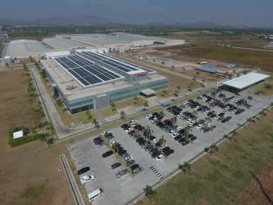 The Bosch plant Hemaraj in Thailand