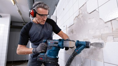 Most powerful cordless rotary hammer with SDS plus: New Biturbo hammer from Bosc ...