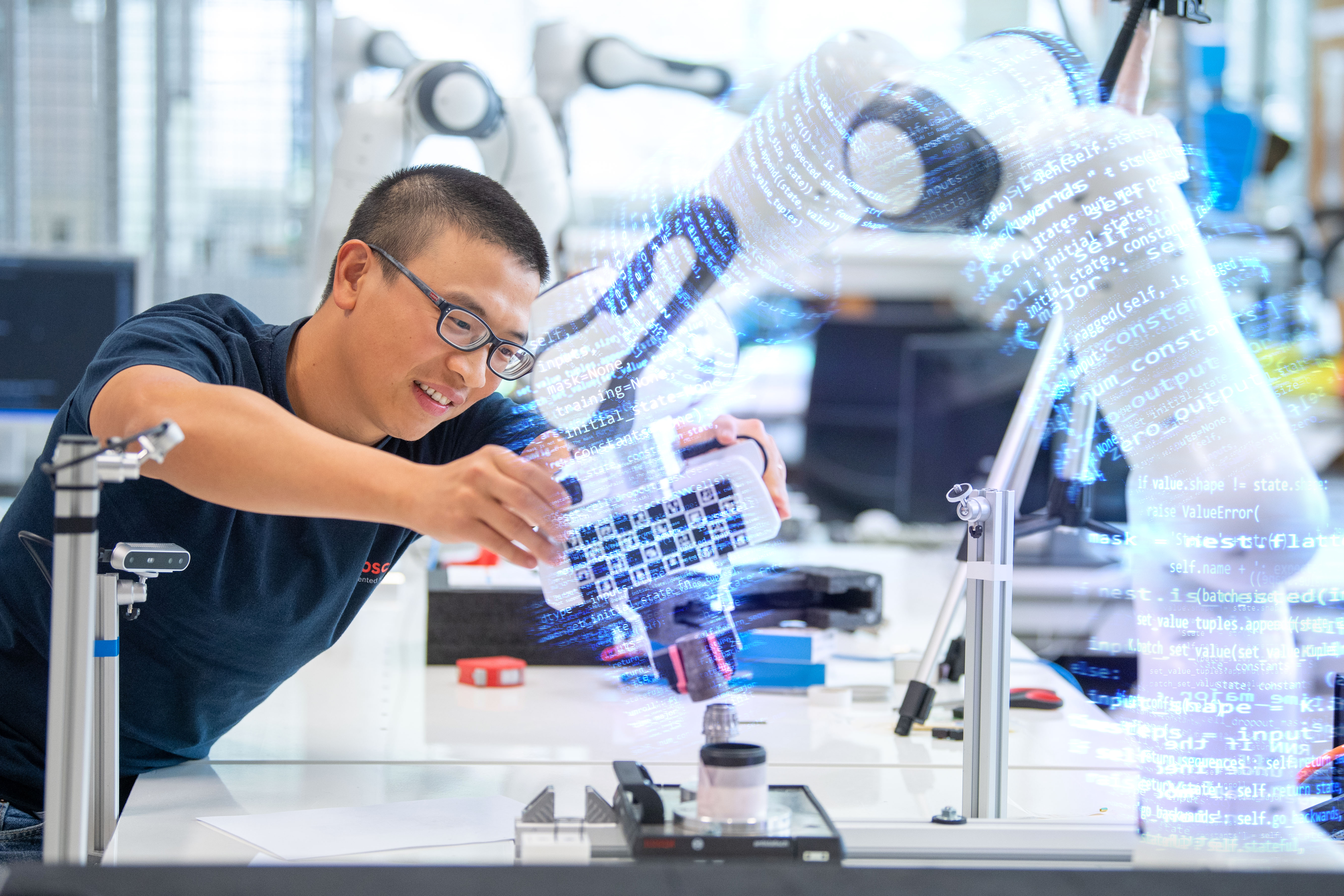 Bosch is fully committed to artificial intelligence in manufacturing