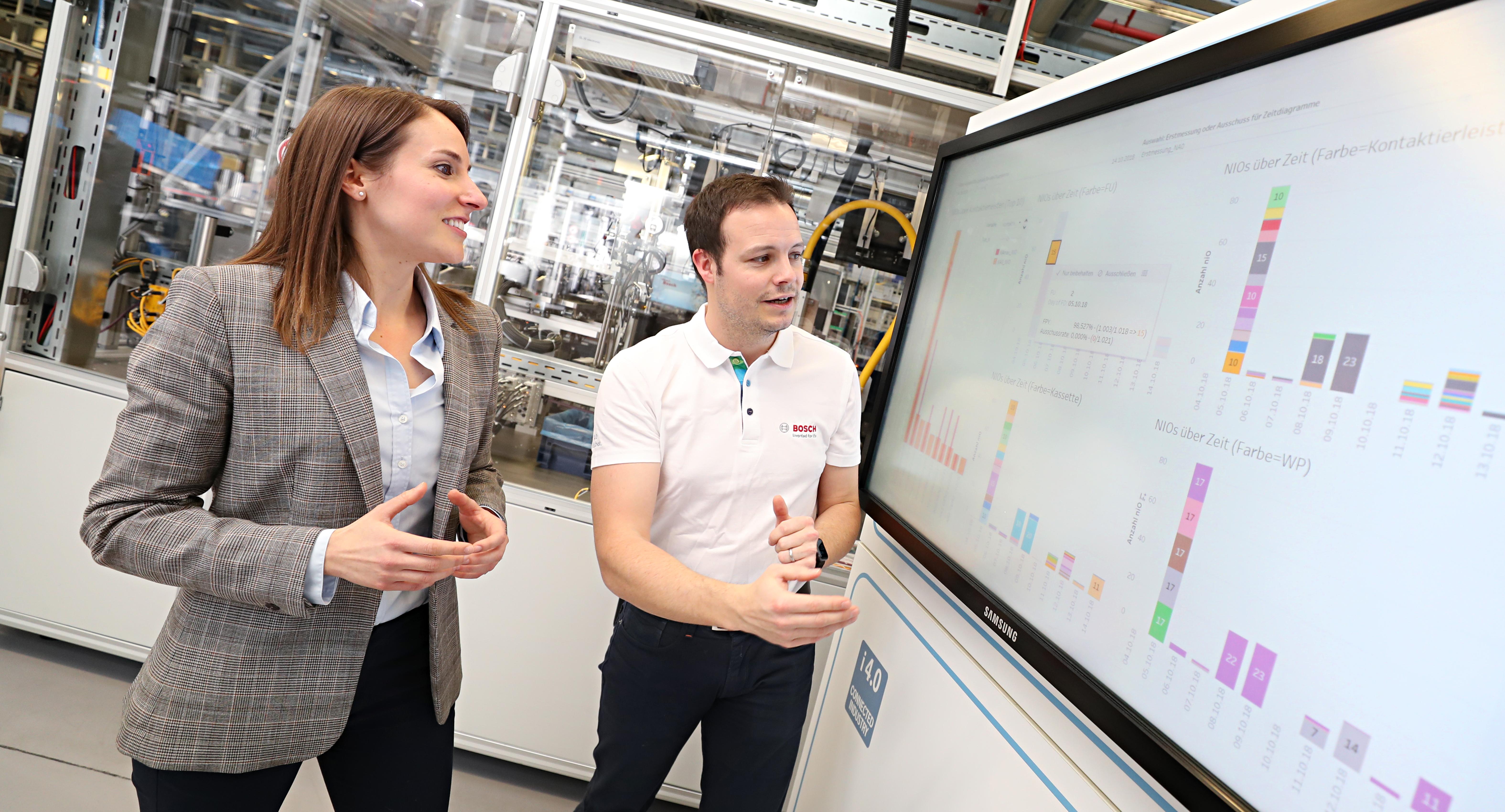 Bosch AI optimizes manufacturing process