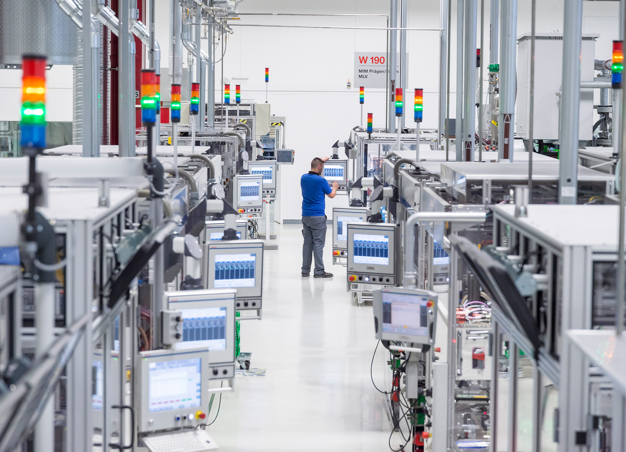 AI in quality control at the Bosch site in Immenstadt, Germany