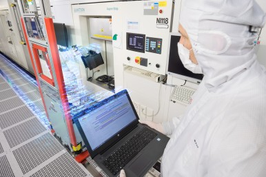 AI at the Bosch semiconductor plant in Reutlingen, Germany