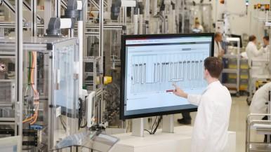 Energy Platform im Bosch-Werk in Homburg