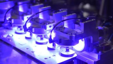 Machine Vision AI für die maschinelle optische Inspektion von Werkstücken