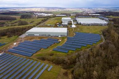 Balancing Energy Network im Bosch-Werk Eisenach