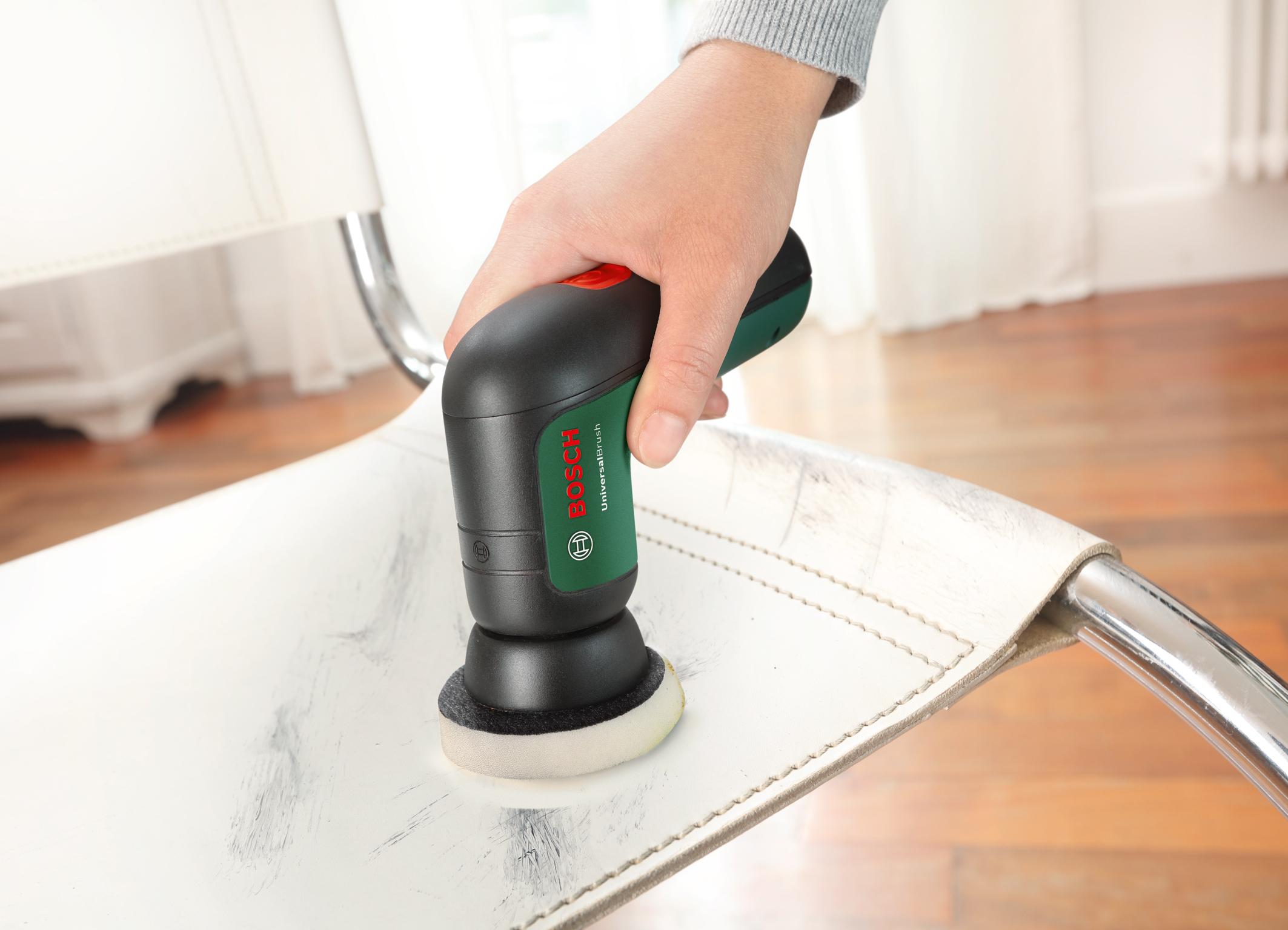 UniversalBrush – verschiedene Aufsätze, unzählige Möglichkeiten: Melaminpad für die Reinigung empfindlicher Oberflächen