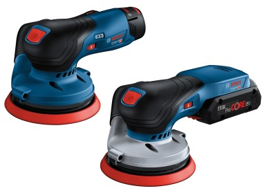 More ergonomic than common models on the market: The first Bosch cordless random ...