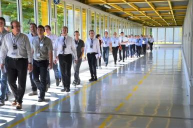 """""""Lernreise Industrie 4.0 live"""" mit Bosch"""
