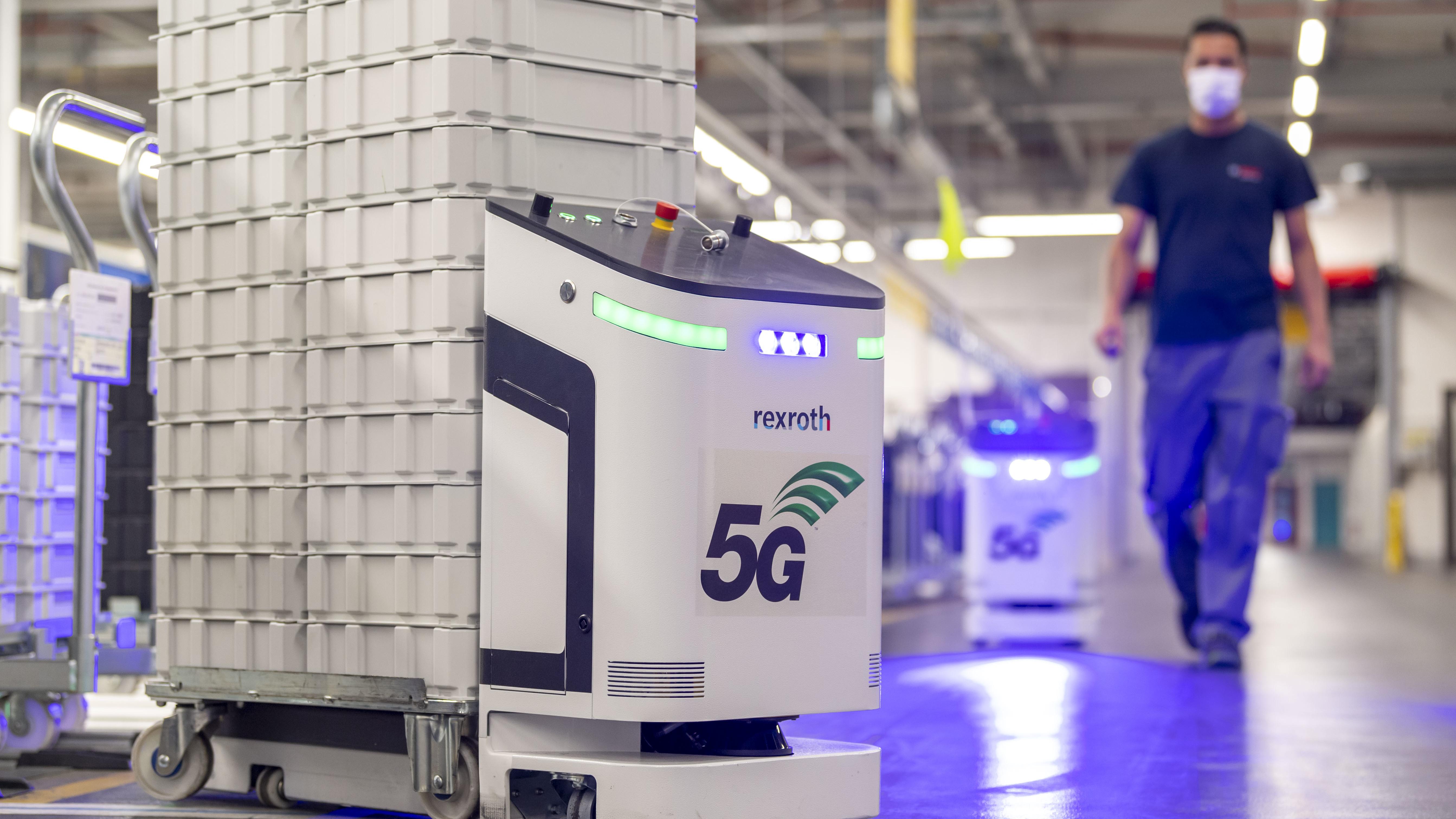 5G campus network at Bosch