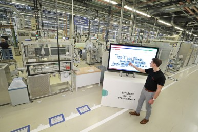 Bosch's pioneering Industry 4.0 role helps make its global manufacturing operati ...