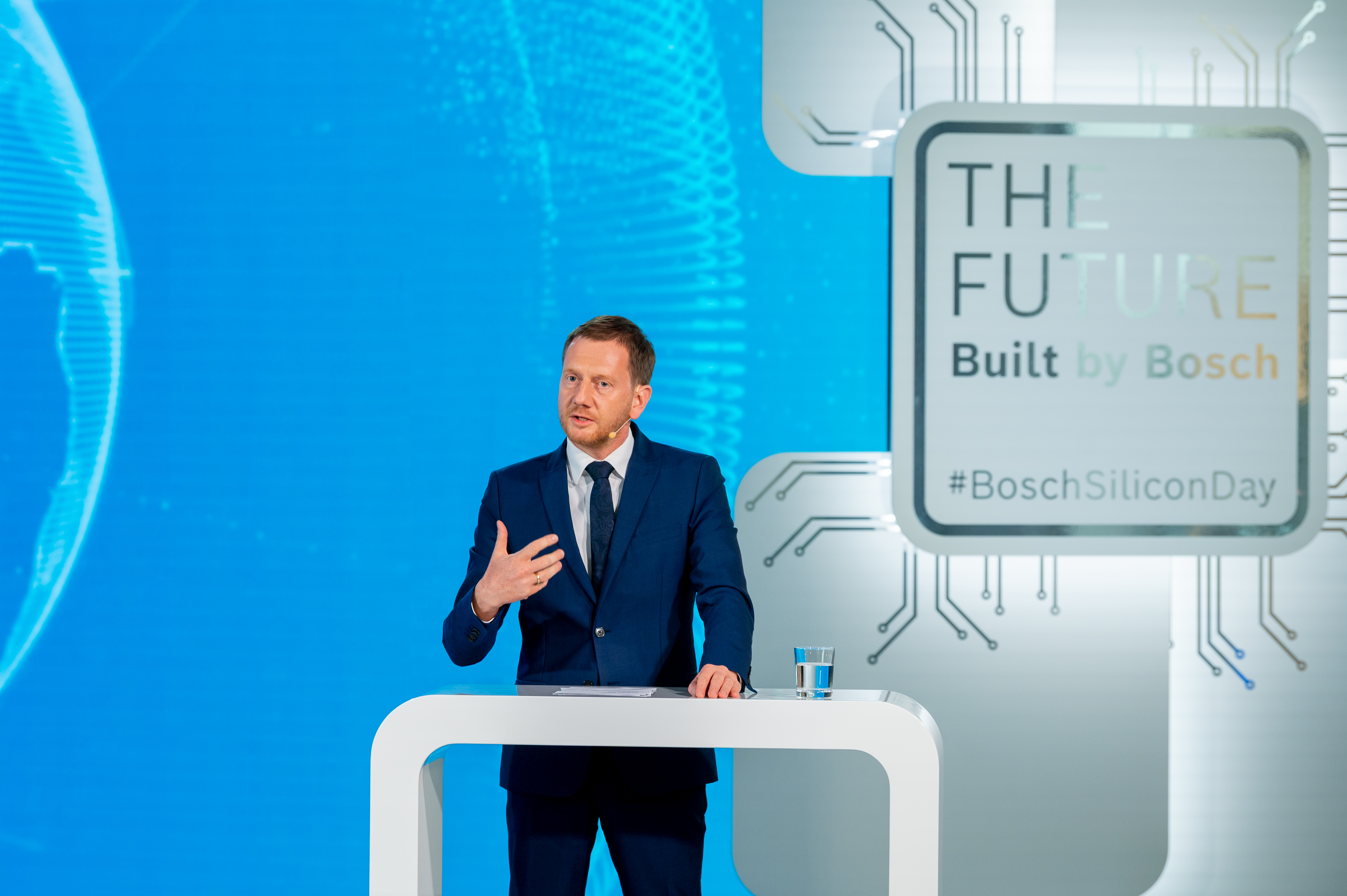 Bosch opens chip factory of the future in Dresden: Michael Kretschmer, Minister-President of Saxony